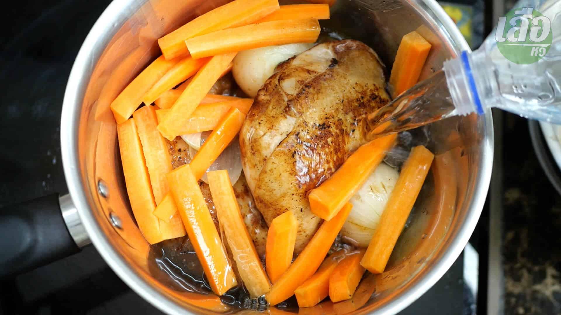 สูตรพร้อมวิธีทำข้าวไก่อบ